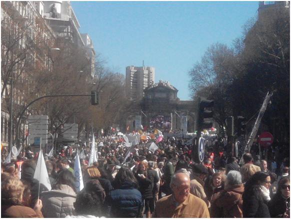 Madrid, cada vida importa, chaque vie compte, avortement, ivg, pro-vida, pro-vie