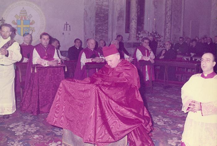 Cardinal Wojtyla, Jean-Paul II, cappa magna