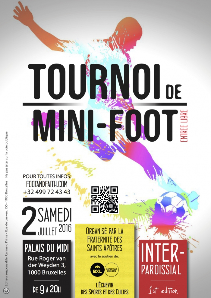 tournoi, mini-foot, inter-paroissial