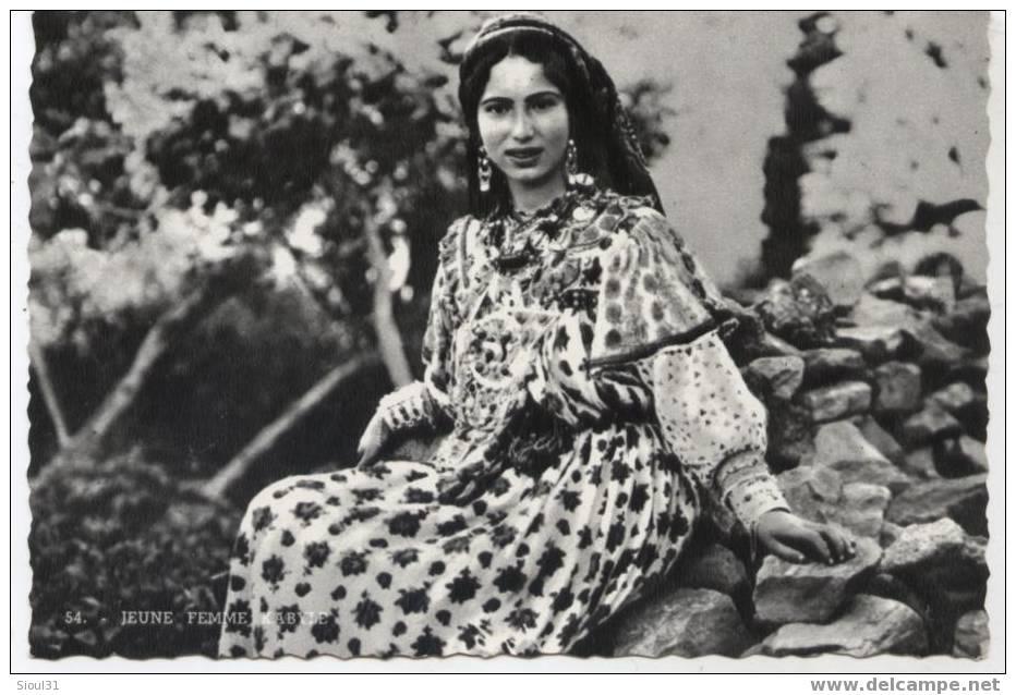jeune femme kabyle