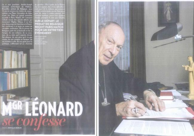 mgr léonard, paris match, andré-joseph léonard