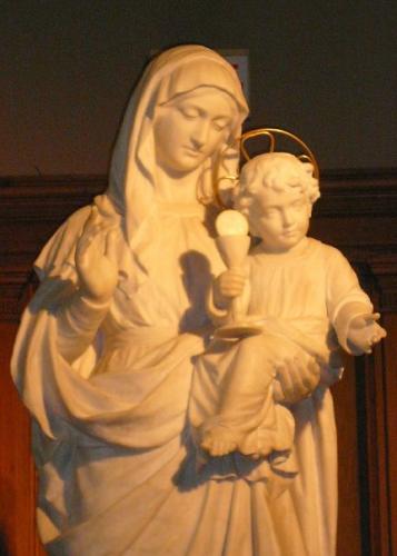 mois de mai, mois de marie, dévotion à la Sainte Vierge, piété mariale