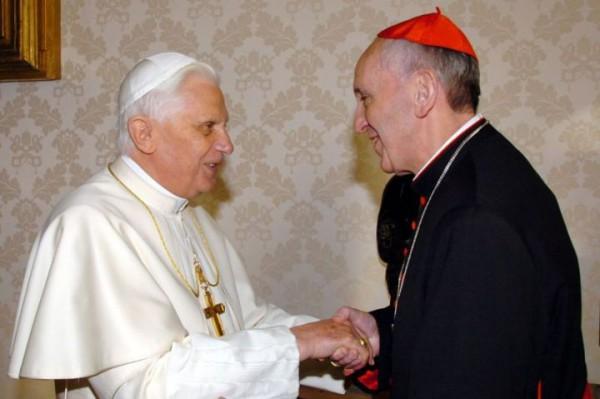benoît xvi, cardinal bergoglio, Jorge Bergoglio, pape françois, continuité