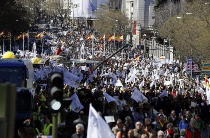 madrid, avortement, 2015, marche pour la vie, manifestation, cada vida importa, chaque vie compte
