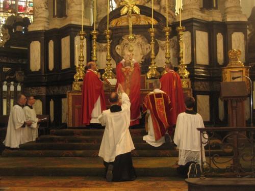 Vatican II, messe, liturgie, forme ordinaire, messe, grégorien, ad orientem, élévation, concélébration, Paul VI